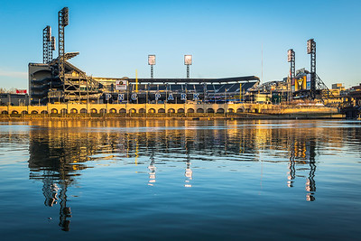 """Bucco Fever"" - Pittsburgh, North Shore   Recommended Print sizes*:  4x6  