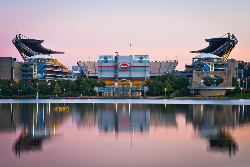 """""""Reflect on Greatness"""" - Pittsburgh, Heinz Field   Recommended Print sizes*:  4x6  