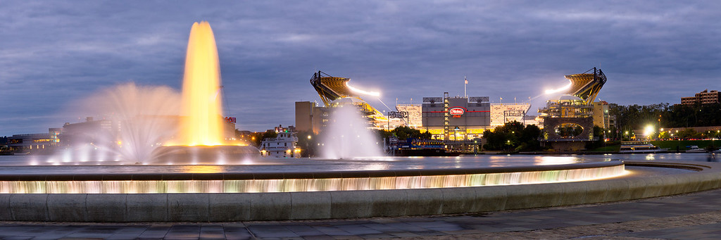 """Hometown Favorites"" - Pittsburgh, Heinz Field   Recommended Print sizes*:  5x15  