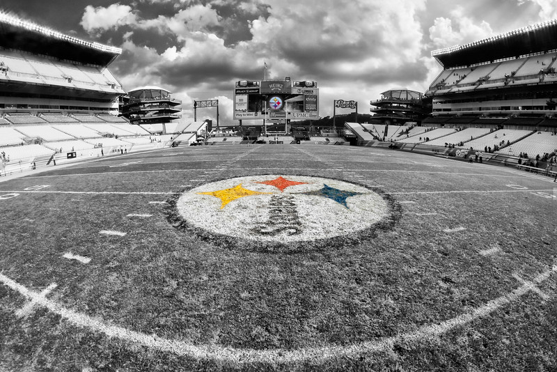 """""""Midfield (S/C)"""" - Pittsburgh,Heinze Field   Recommended Print sizes*:  4x6  