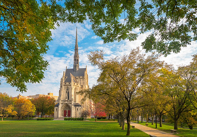 """Going to the Chapel"" - University of Pittsburgh   Recommended Print sizes*:  4x6  