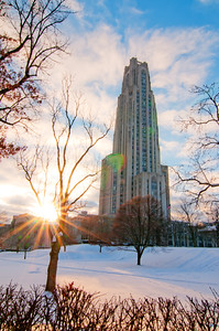 """""""Flare of Knowlege"""" - Oakland, University of Pittsburgh   Recommended Print sizes*:  4x6  