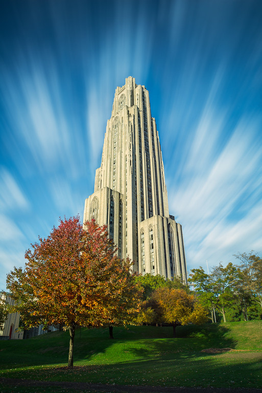"""""""Flying By"""" - Oakland, University of Pittsburgh   Recommended Print sizes*:  4x6  