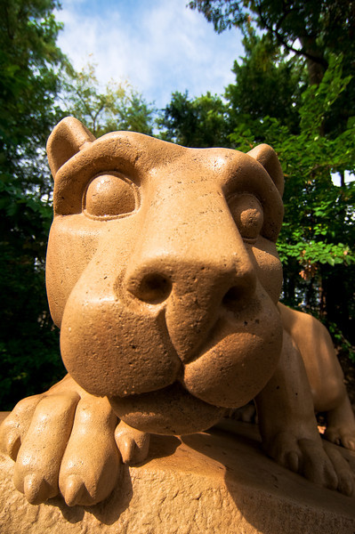 """Face of the Shrine"" - Happy Valley, Penn State University   Recommended Print sizes*:  4x6  
