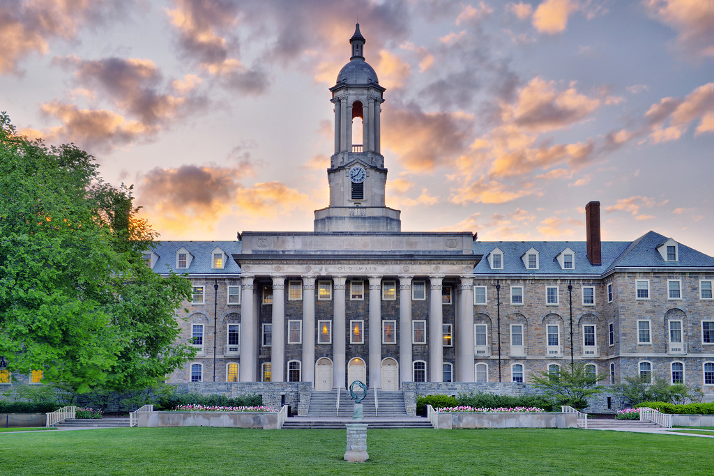 """""""Old State"""" - State College, Penn State University   Recommended Print sizes*:  4x6  
