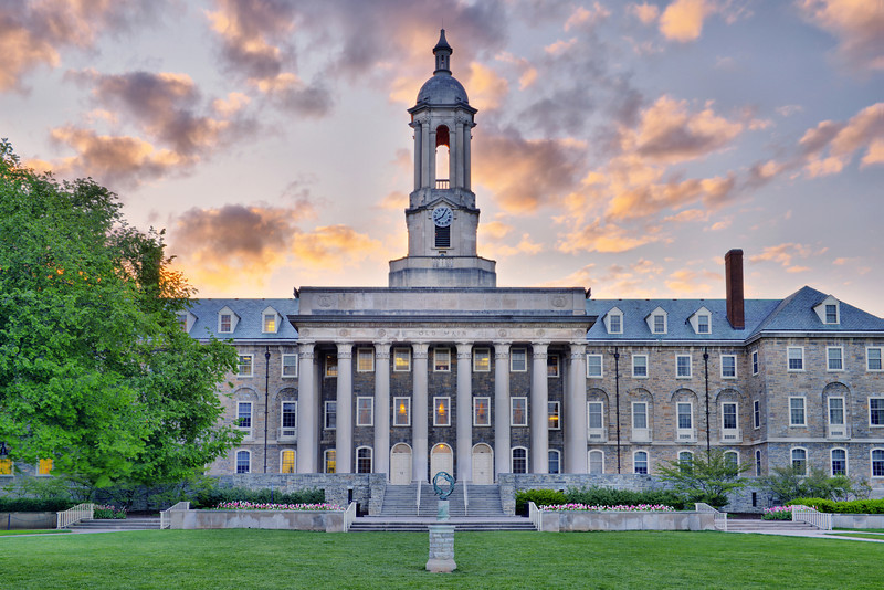 """Old State"" - State College, Penn State University   Recommended Print sizes*:  4x6  
