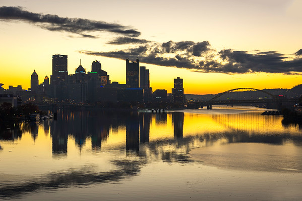 """The New Black and Gold"" - Pittsburgh, West End   Recommended Print sizes*:  4x6  