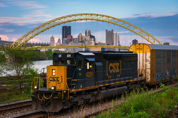 """West End Train"" - Pittsburgh, West End   Recommended Print sizes*:  4x6  
