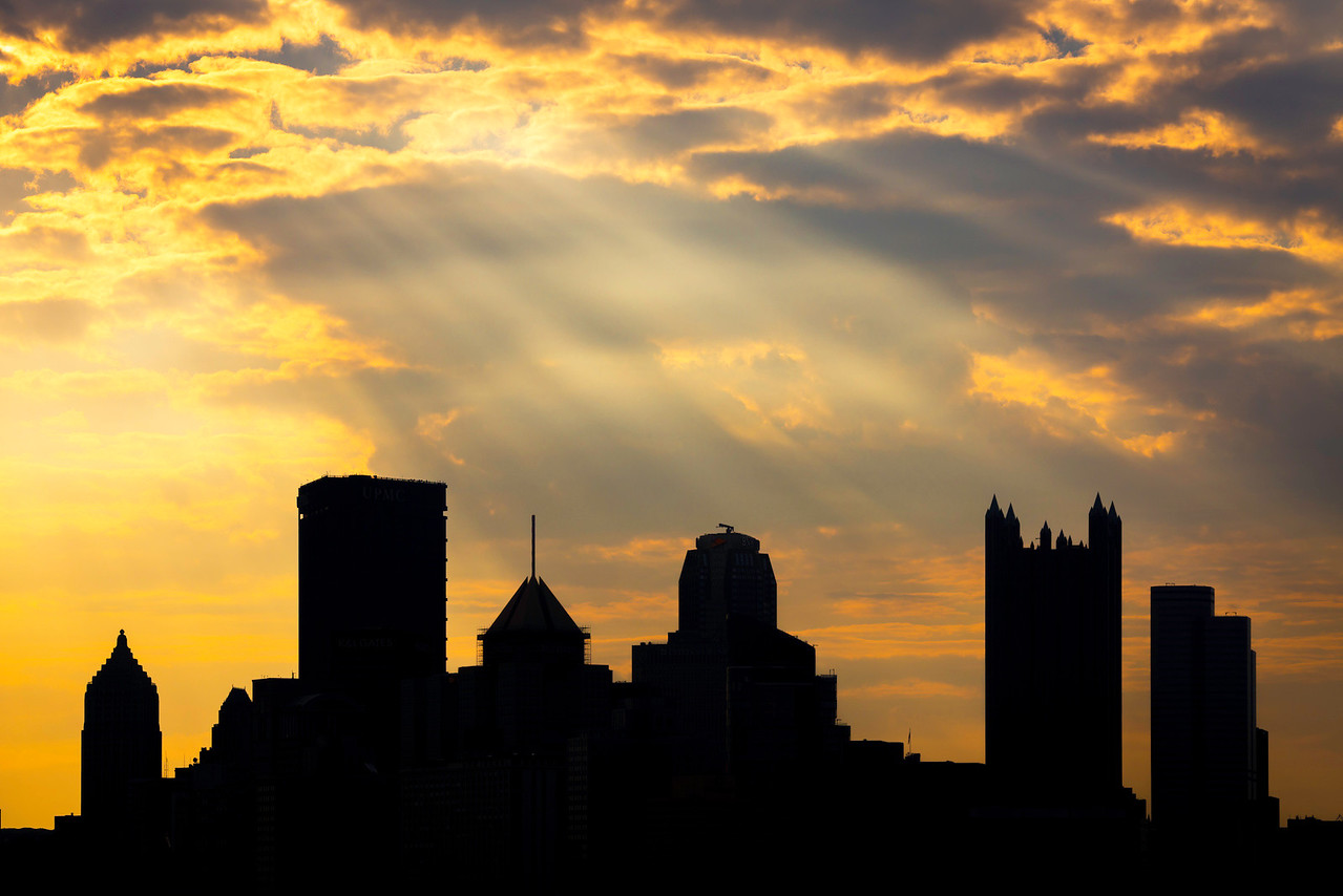 """Rays"" - Pittsburgh, West End   Recommended Print sizes*:  4x6  
