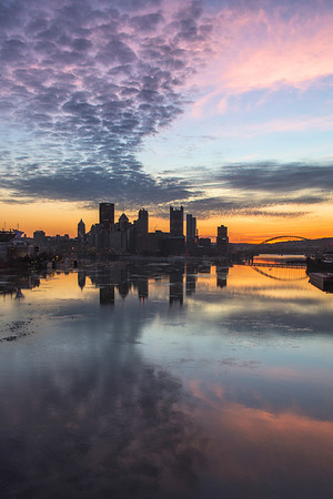 """ Dynamic Light"" - Pittsburgh, West End   Recommended Print sizes*:  4x6  