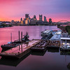 """<center><br><font size=""""4"""" color=""""white""""><b>""""Cotton Candy Sunrise"""" - Pittsburgh, West End</b><br> </font> <br><font size=""""3"""" color=""""white""""> <u>Recommended Print sizes*</u>:<br>  4x6  