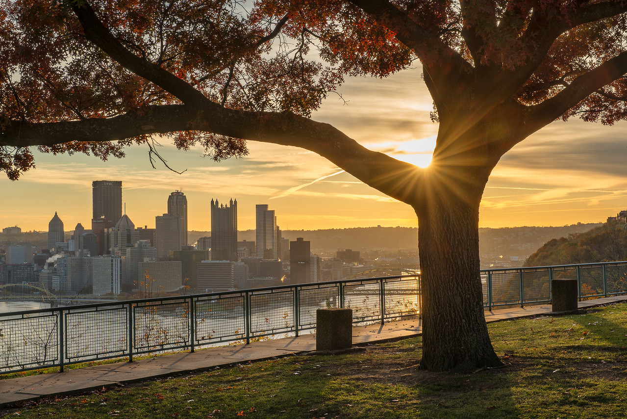 """""""Shining Through"""" - Pittsburgh, West End   Recommended Print sizes*:  4x6  