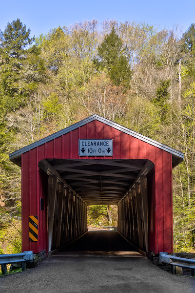McConnell Mills Covered Bridge 2
