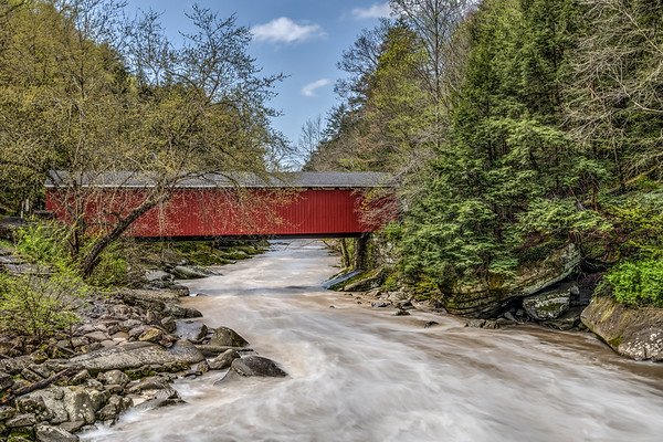 McConnell Mills Covered Bridge 3