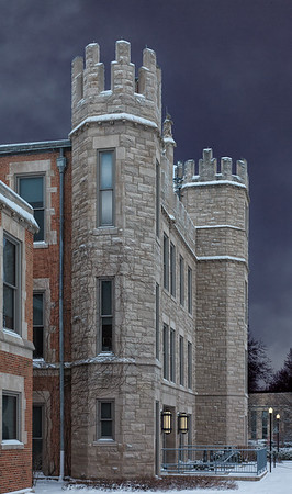 Altgeld Hall Backside