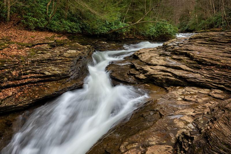 Natural Water Slides