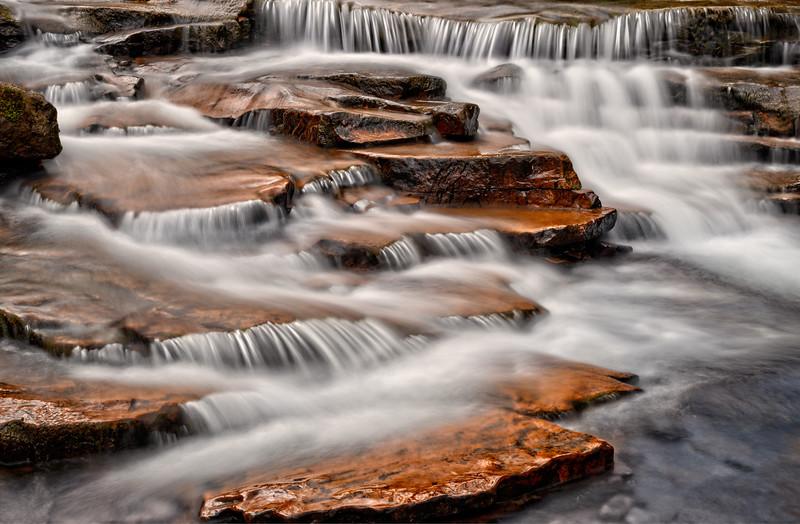Cascades below Johnathan Run Falls 01