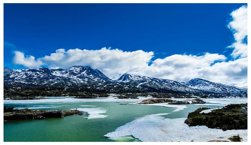 Yukon Territory in Canada off Klondlike Hwy.