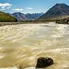 Toklat River at Denali National Park