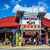 One of the most famous Salmon stores in Ketchikan, Alaska
