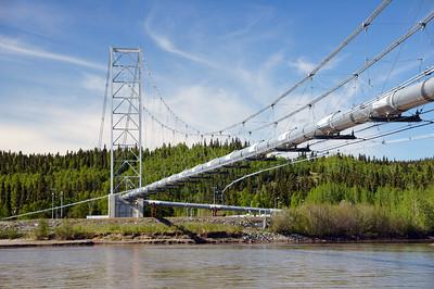 Alaska Pipeline Tanana River Pipeline Bridge | Alaska