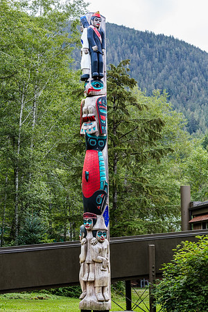 Ketchikan, Alaska Totem Pole