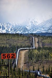 Marker 562 Alaskan Pipeline | Alaska