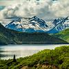 More reflections. Yukon Territory in Canada off Klondlike Hwy.