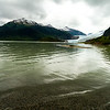 Mendenhall Glacier with a wide angle