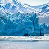 The untainted Hubbard Glacier.