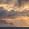 Gerlache Strait - Sunset - Whales 2527