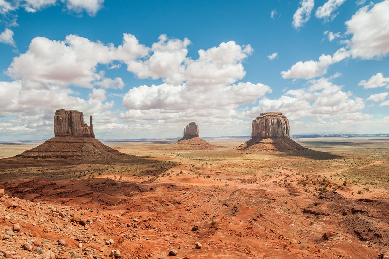 The Mittens - Monument Valley