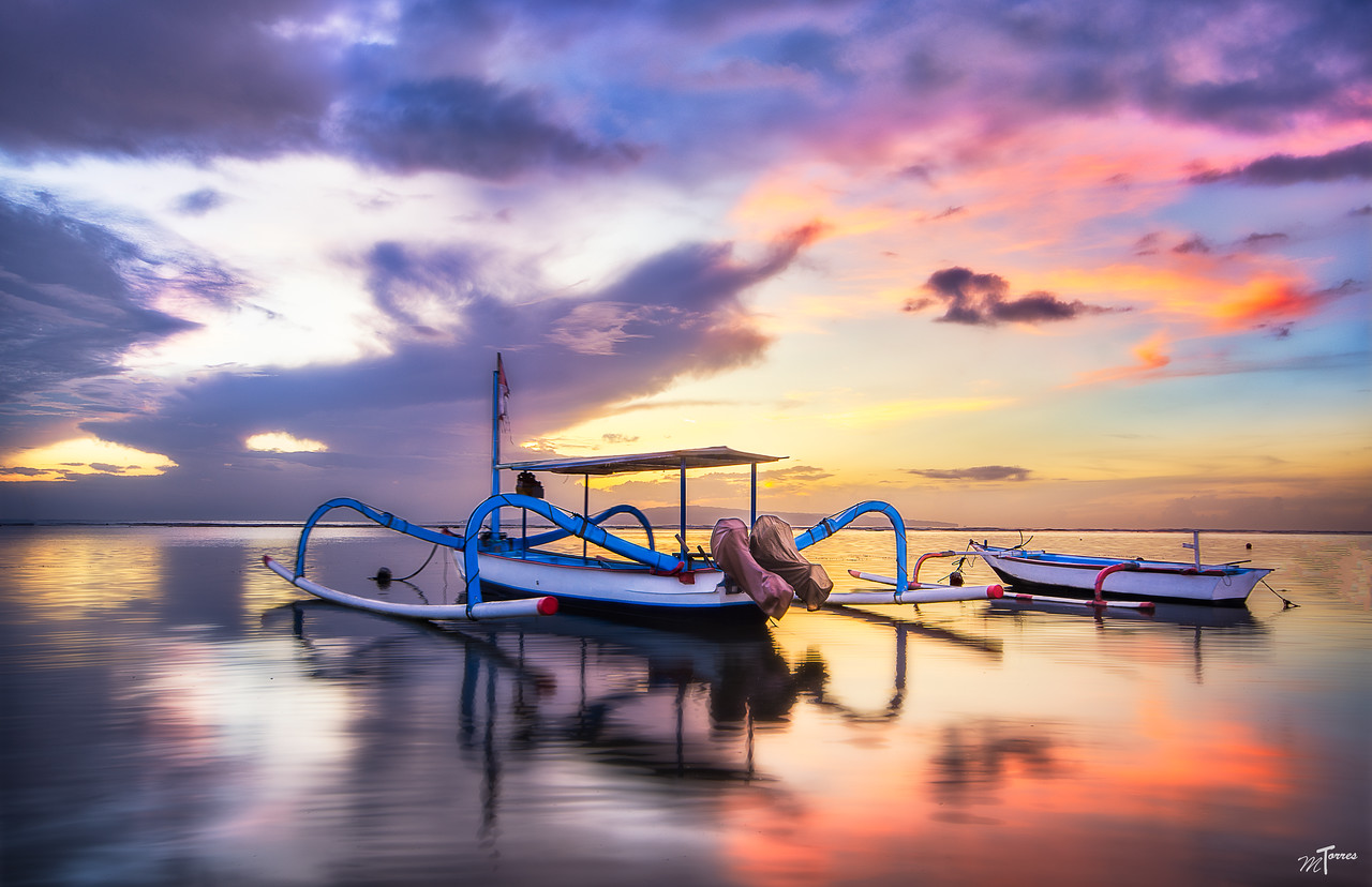 Fishing Boats in Bali