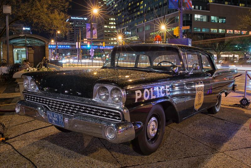 Baltimore Police Department Antique Patrol Car