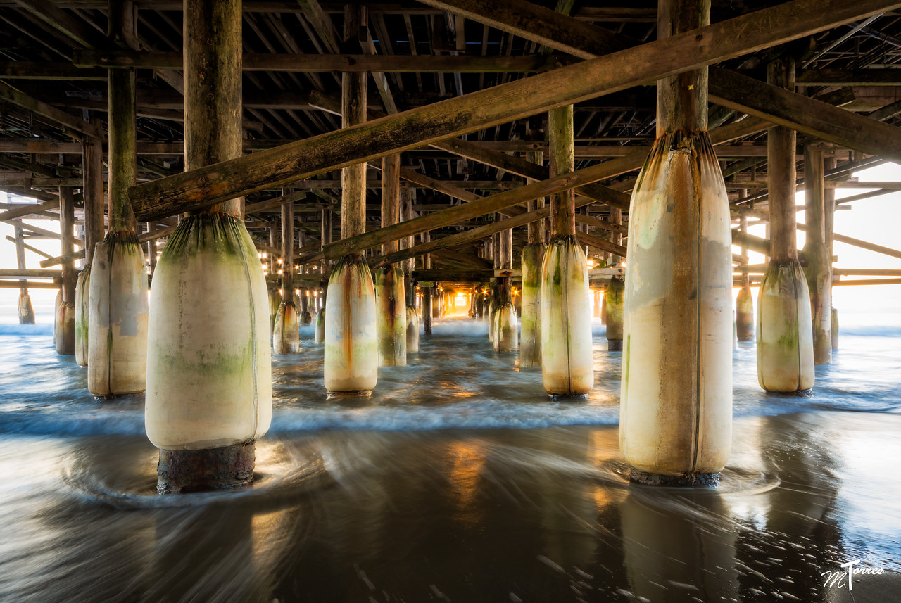 Pier of Mission Beach