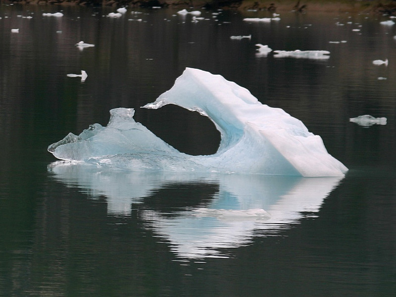 Iceberg.  Perfect arrow!