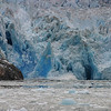 A glacier, calving.  It gets COLD watching these!