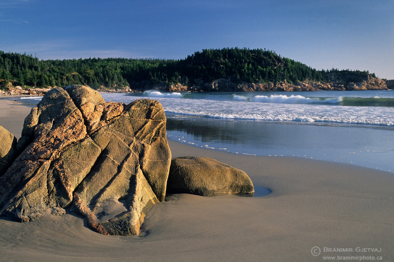 Black Brook beach, Cape Breton Highlands National Park