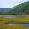 Autumn landscape at Indian Brook. Cape Breton Island, Nova Scotia