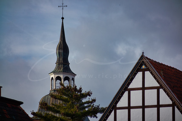 St.-Aegidius in Wiedenbrück | la tour de l'église St. Aegidius
