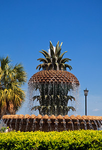 Pineapple Fountain in Charleston
