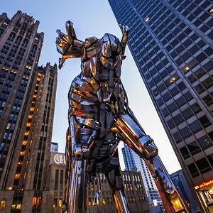 Elch in Chicago