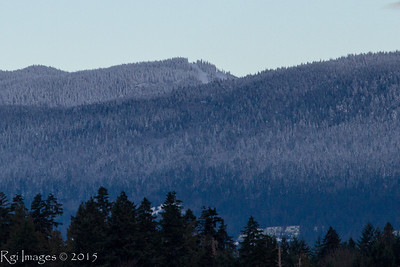 Top of Cypress Mountain ski area.