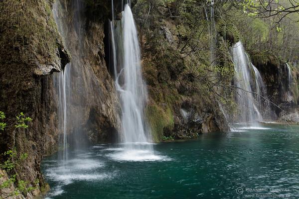 Galovacki Buk waterfall in Plitvice Lakes National Park, Croatia