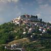 View of the medieval town of Motovun. Istria, Croatia