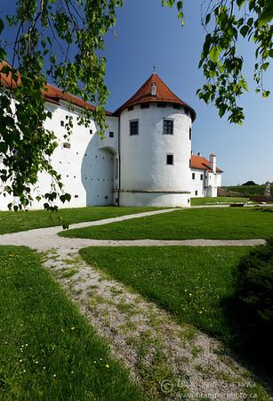 View of the Varazdin fortress, Croatia