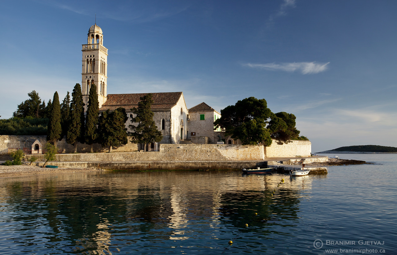 Franciscan monastery and museum. Hvar, Croatia