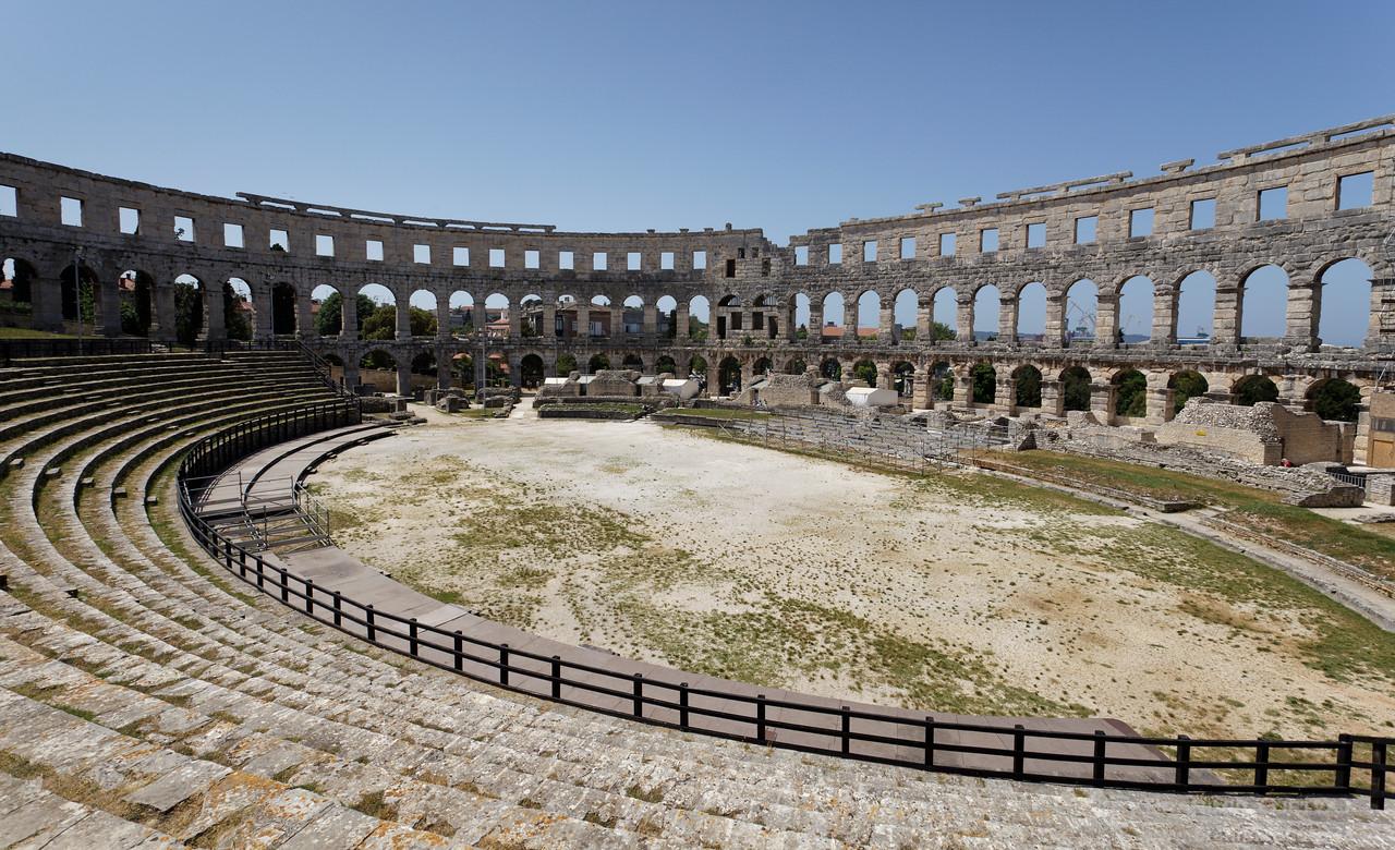 Arena - Roman amphitheatre in Pula, Croatia