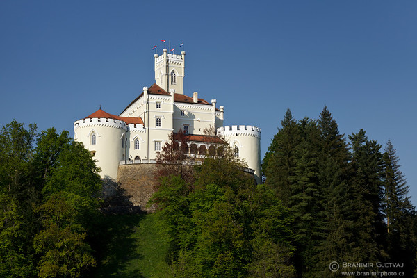 View of Trakoscan castle, Croatia