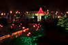 Canal Garden at Christmas